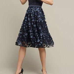 Blue Buttercup Midi Skirt